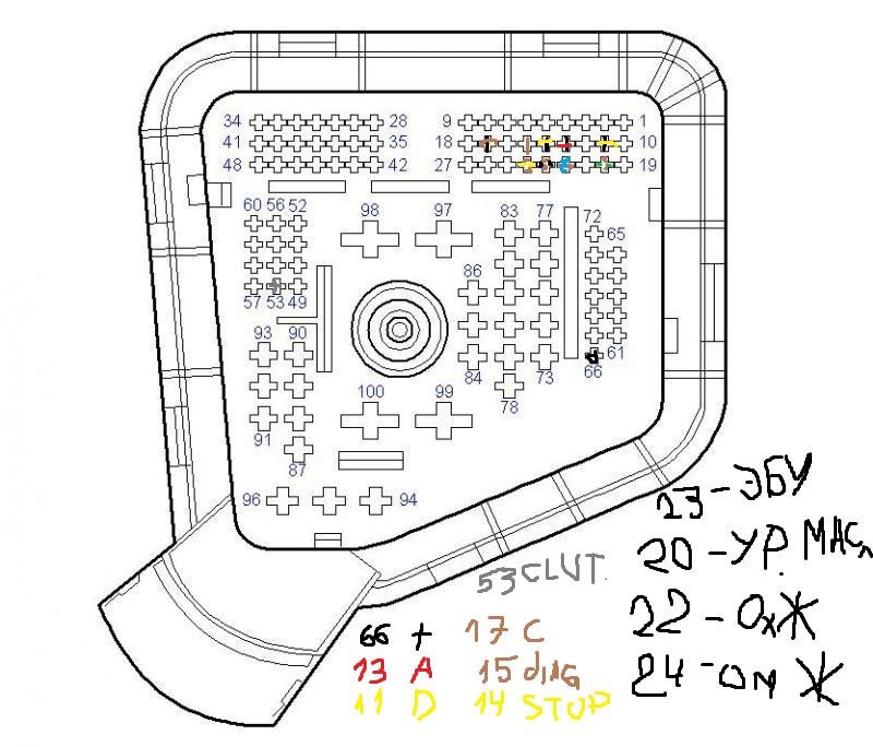 программируемый регулятор скорости opel
