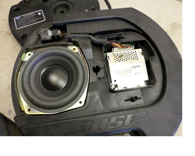 аудиосистема bose 6 динамиков и сабвуфер mazda 6