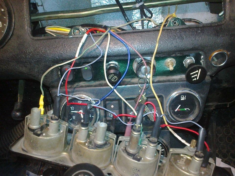 Электропроводка своими руками на уаз
