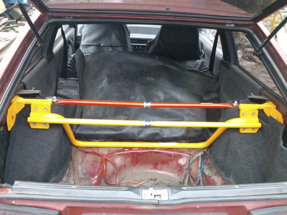 Как сделал багажник ваз 2108 435