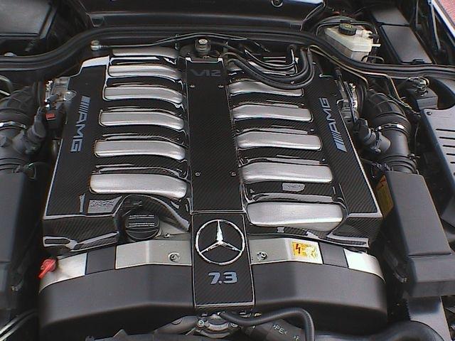 Mercedes benz w210 brabus e 7 3 mercedes for Mercedes benz v12 engine