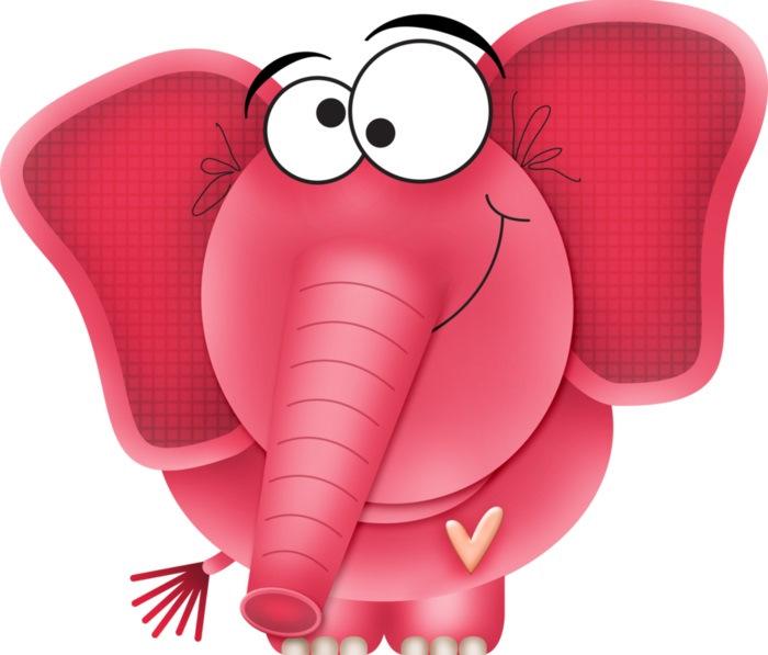 Красивые, слон рисунок смешной
