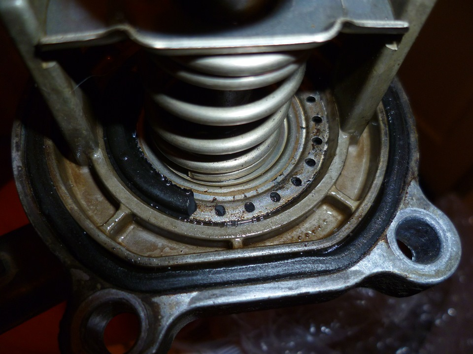 Ремонт термостата на опель астра своими руками