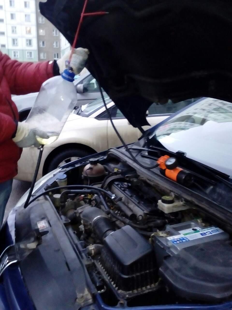Ошибки Antipollution Fault и catalytic converter fault
