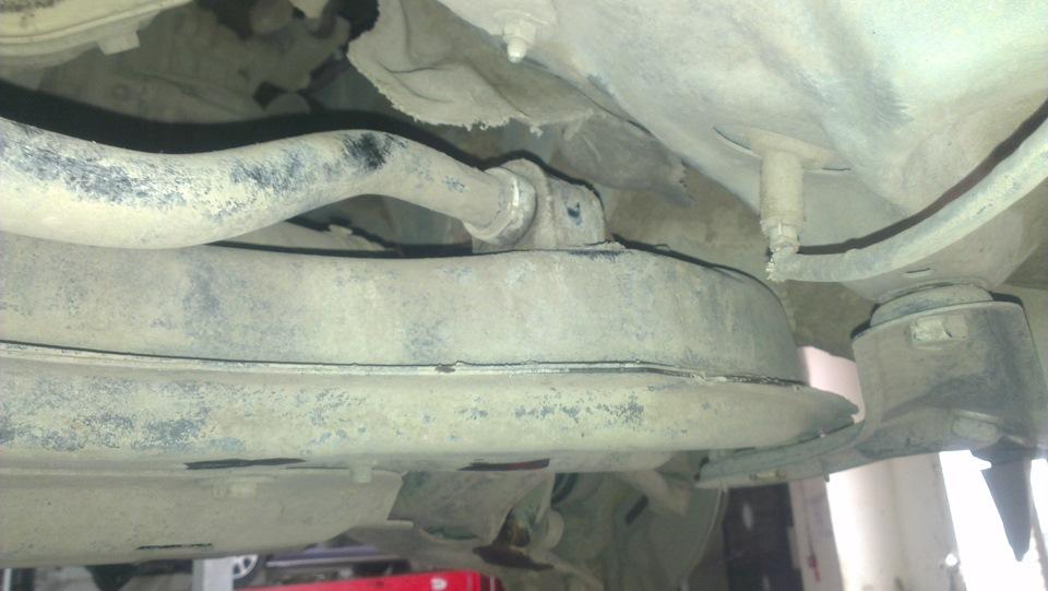 Отчет о замене стоек стабилизатора и втулок. - бортжурнал Toyota Avensis ООО Веня 2007 года на DRIVE2