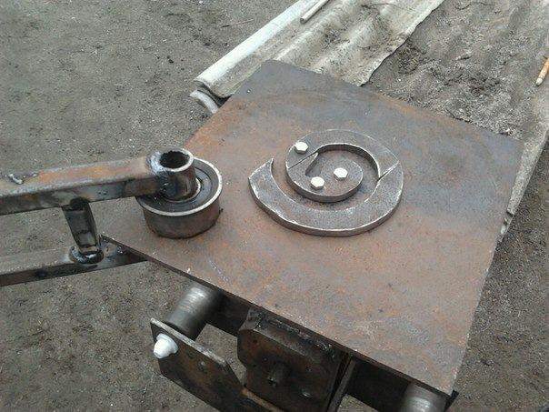 Приспособления для гибки металла своими руками фото 884