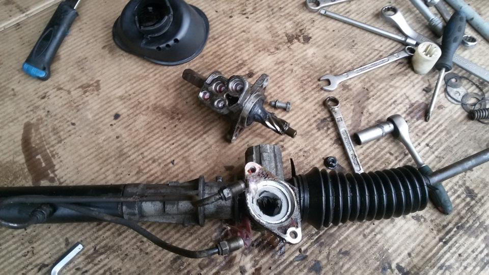 Ремонт рулевой рейки меган 2 своими руками 47