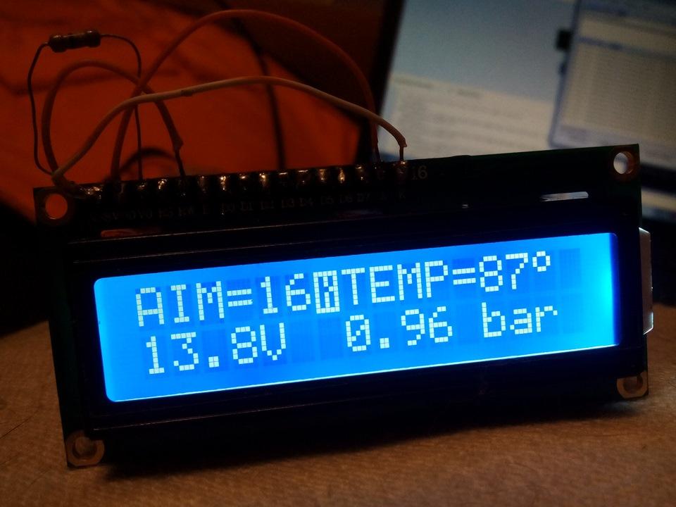 Бортовой компьютер на arduino