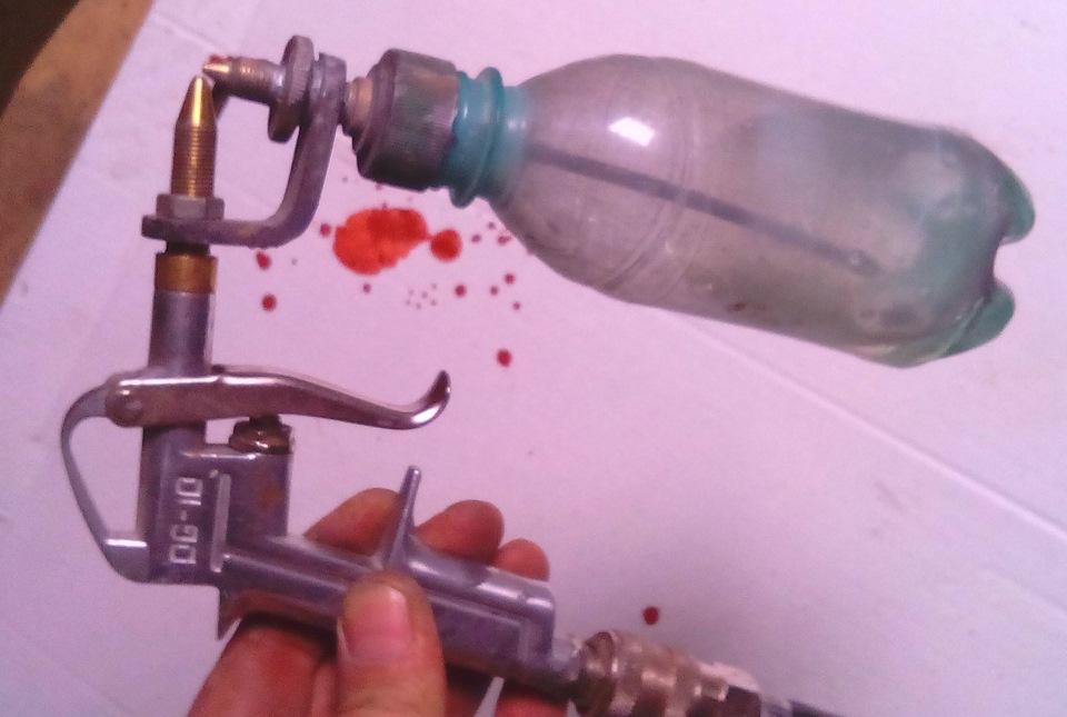 Как сделать краскораспылитель