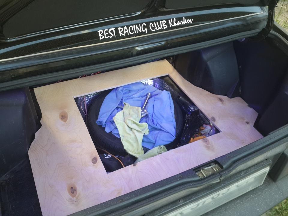 Багажник ваз 21099 своими руками 27