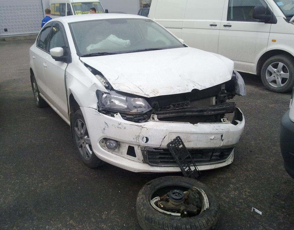 фольксваген поло седан автомобильные аварии видео фото