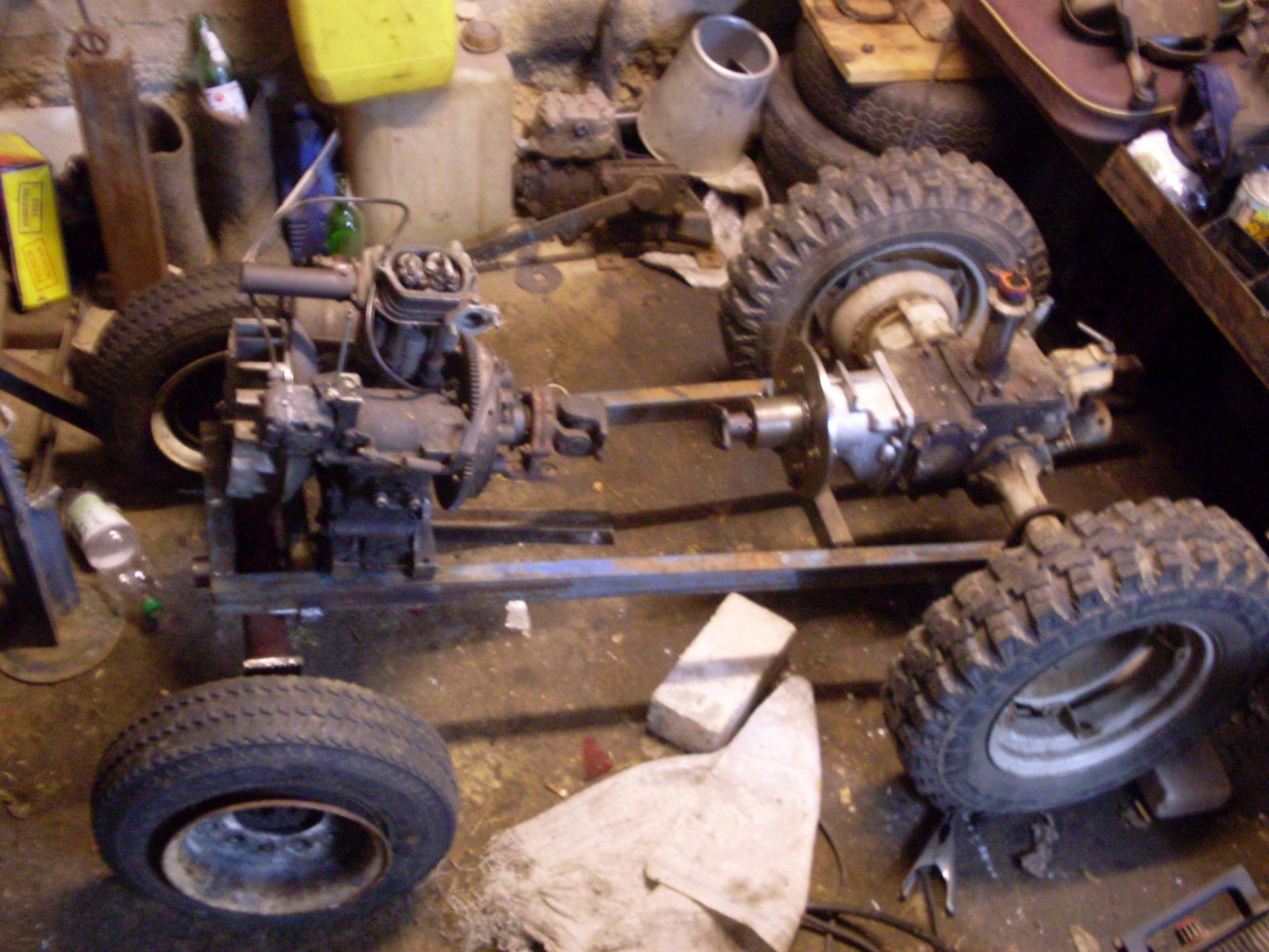 Minimehanik: Мотоблок МТЗ 05, замена двигателя.