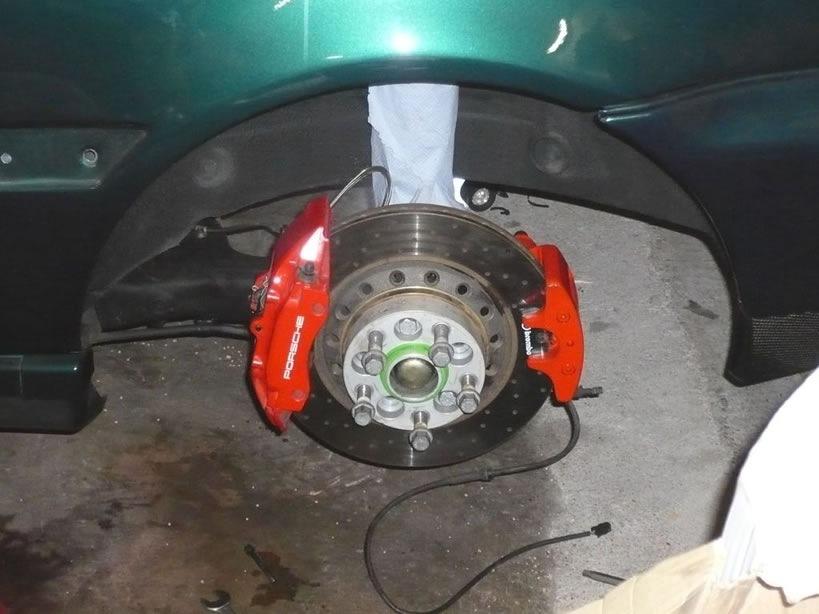 передние тормозные диски тойота калдина