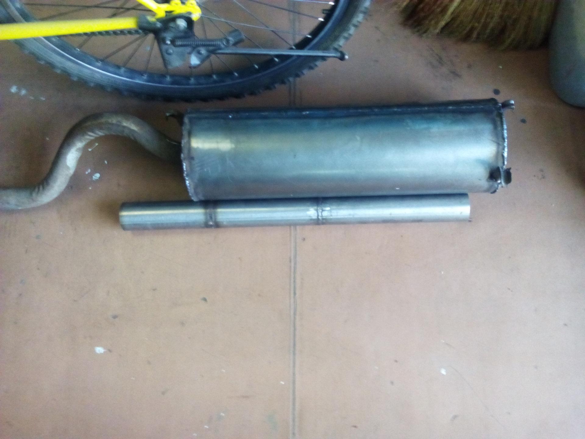 Глушитель для генераторов своими руками фото 735