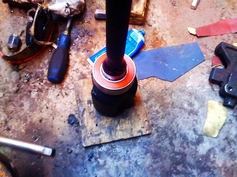 камри 40 смазка правого привода промежуточного подшипника