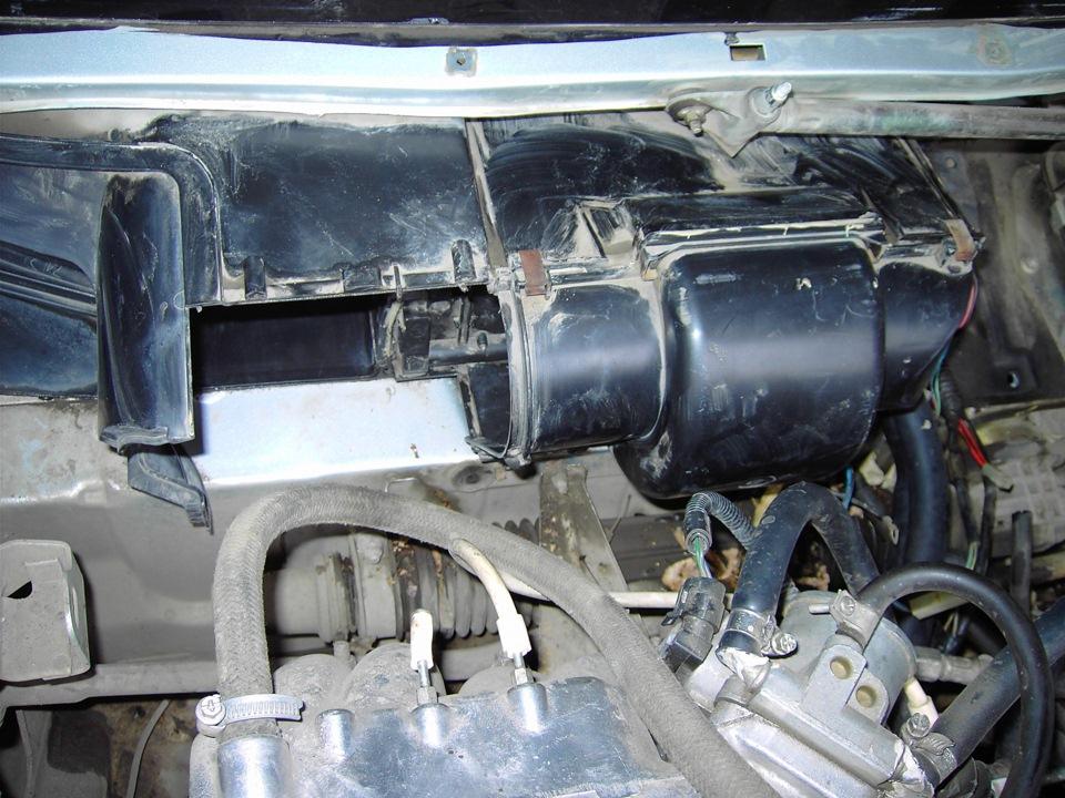 Фото №21 - замена радиатора печки на ВАЗ 2110