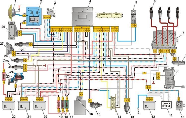 1 электродвигатель вентилятора