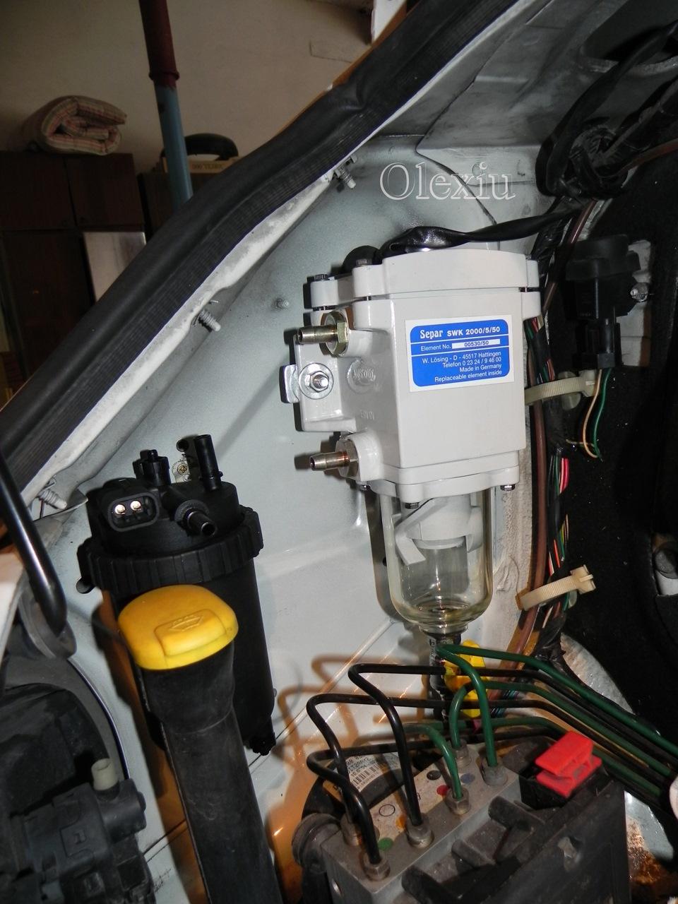 электрическая схема сепар swk-2000/10 подсоеденения