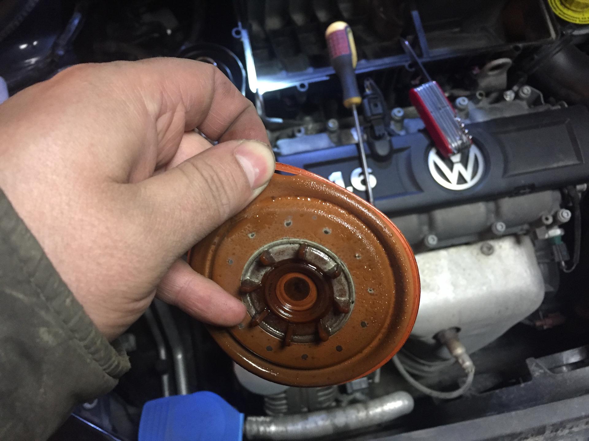 замена мембраны клапана volkswagen polo 6r