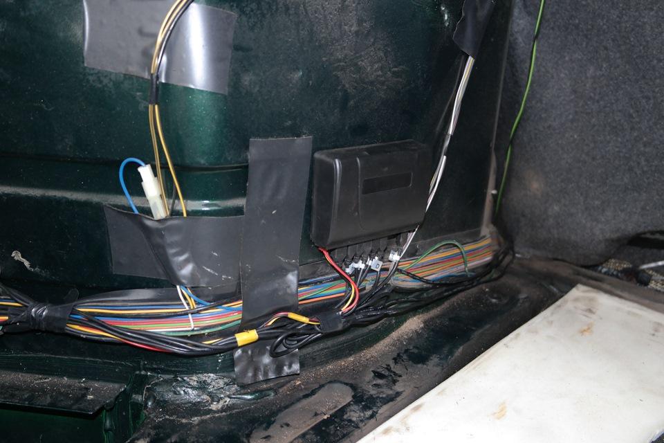 Фото №20 - установка парктроника на ВАЗ 2110