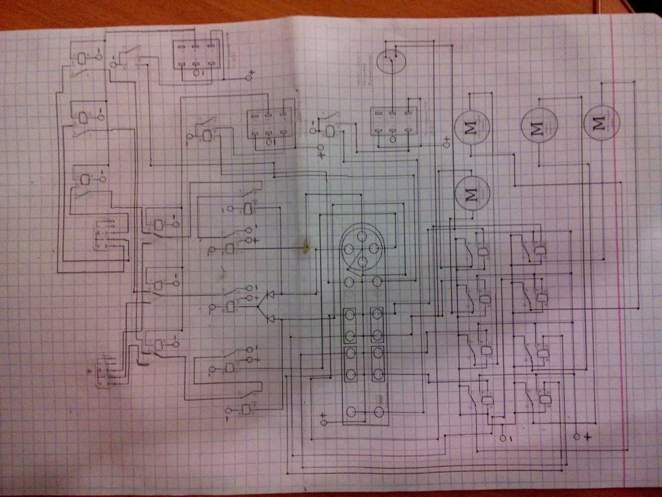 Схема для всего модуля