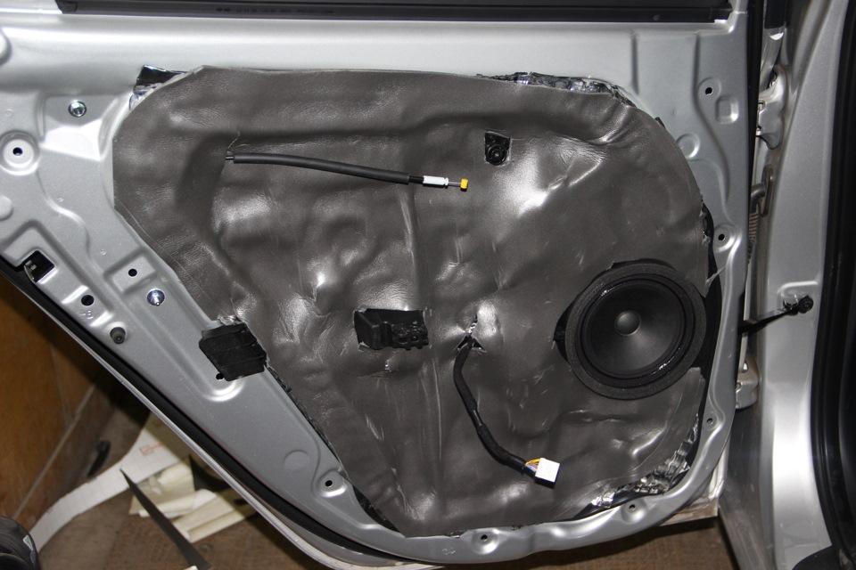 Подкрылков арок шумоизоляция колесных или