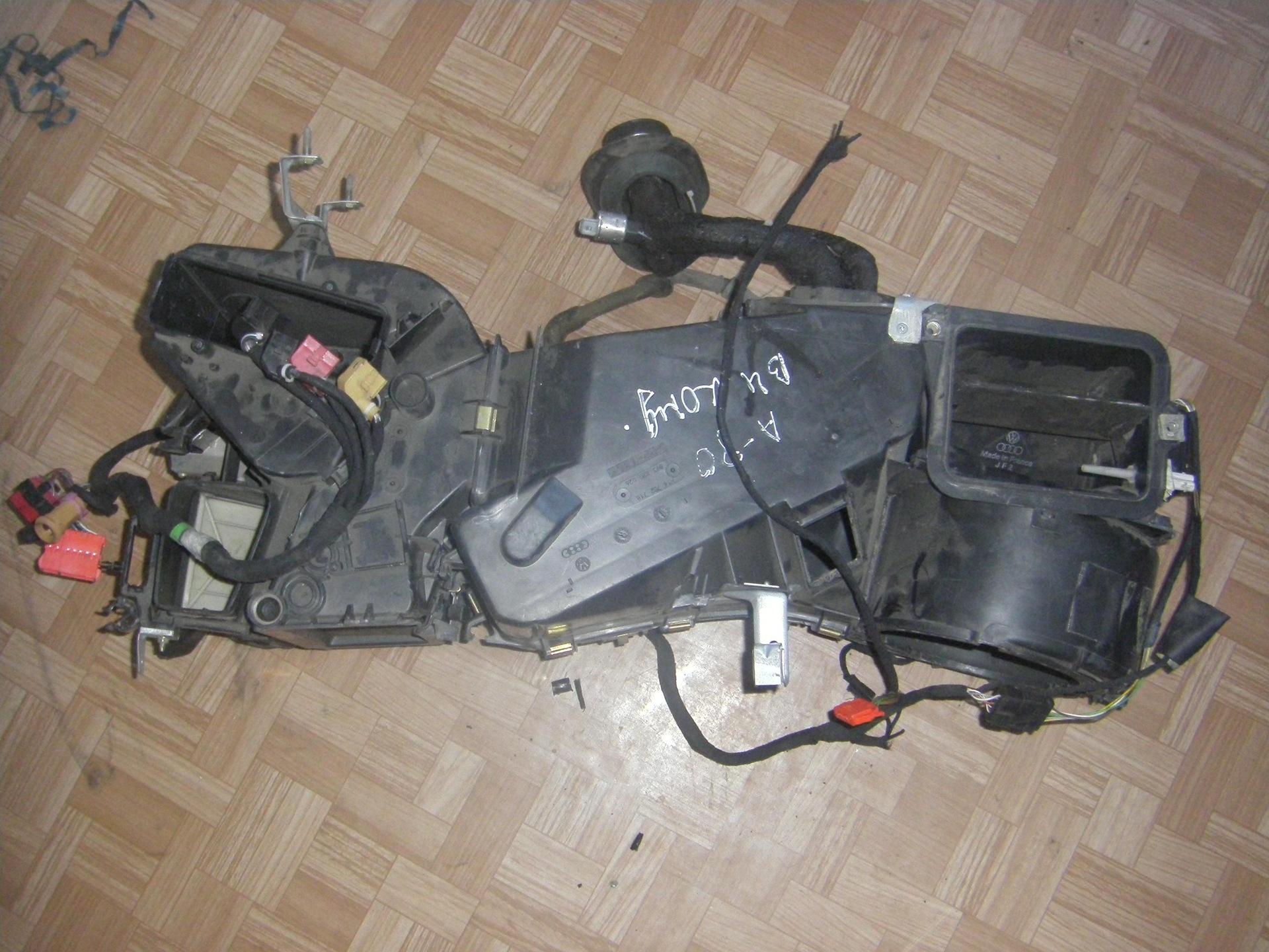 схема установки двигателя на ауди 80