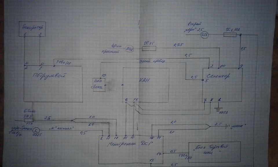 фото принципмальной схемы