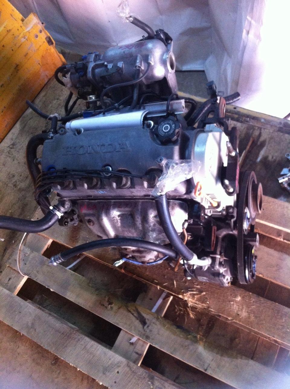 honda civic d14 замена мотора на d16