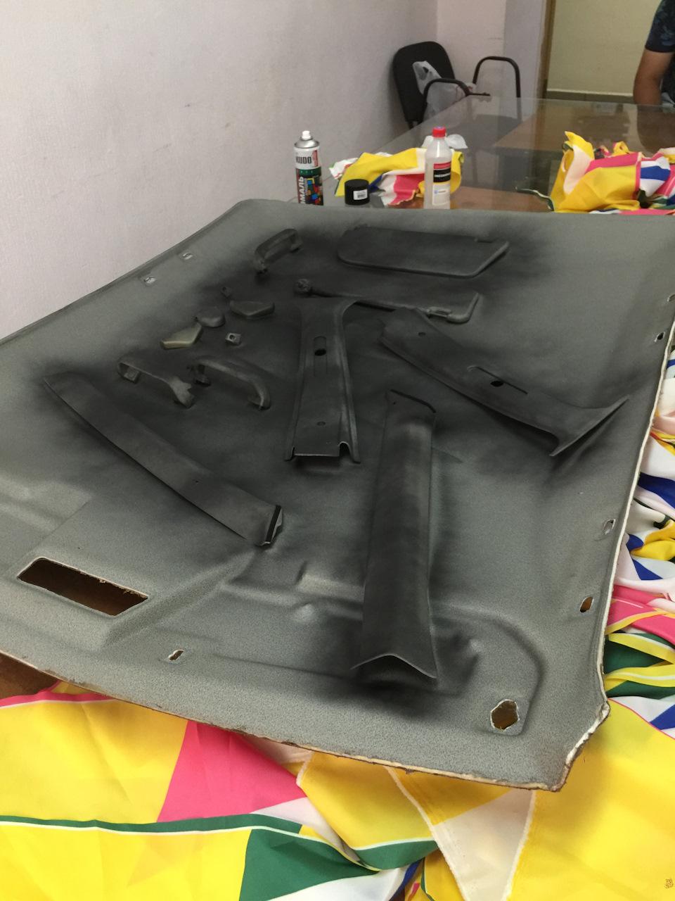 6daacees 960 - Чем можно покрасить потолок в машине