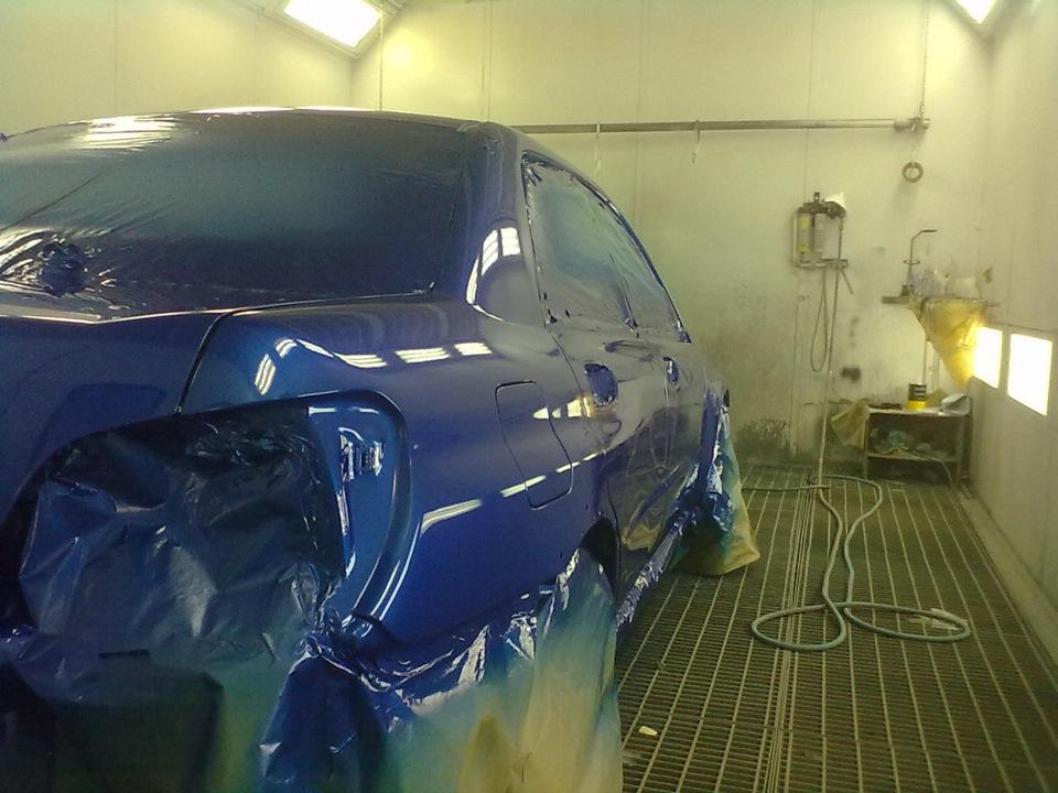 Покраска машины своими руками фотоотчет