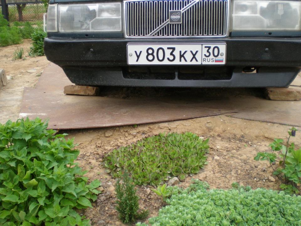 бампер вольво 940 передний бу