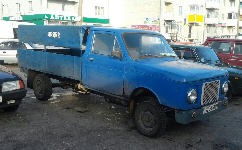 Lada 4x4 Pickup (2329) - цена и технические