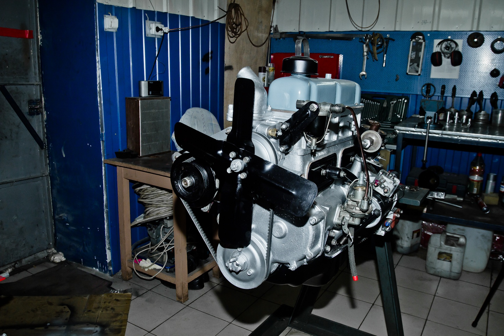 Восстановленный двигатель ГАЗ-21