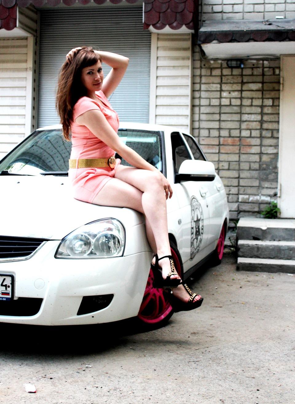 Фото девушек с приорой