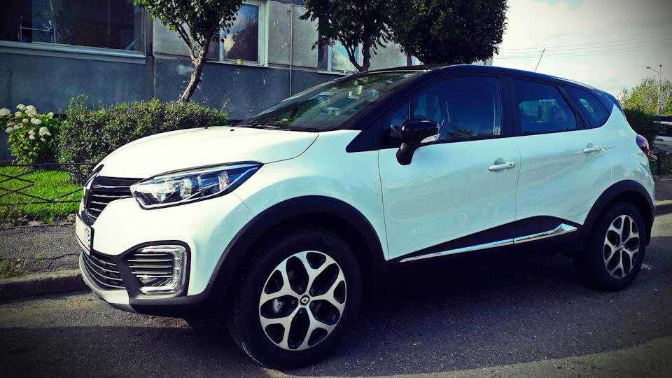 Экстерьер Renault Kaptur
