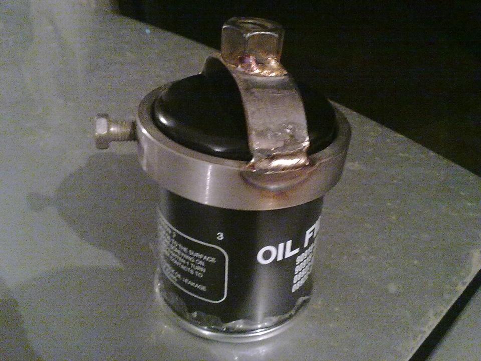 Съёмник для масляного фильтра своими руками
