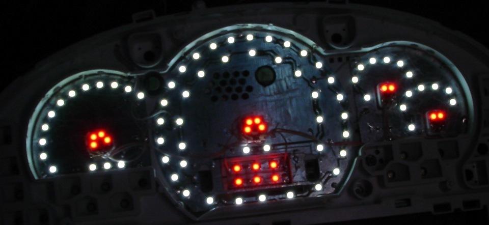 Как сделать подсветку на панель