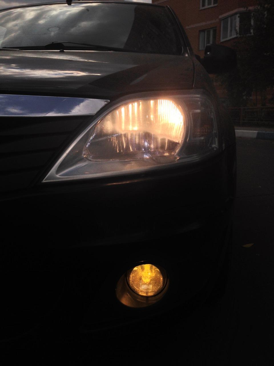 Лампы лед для авто в фары h4