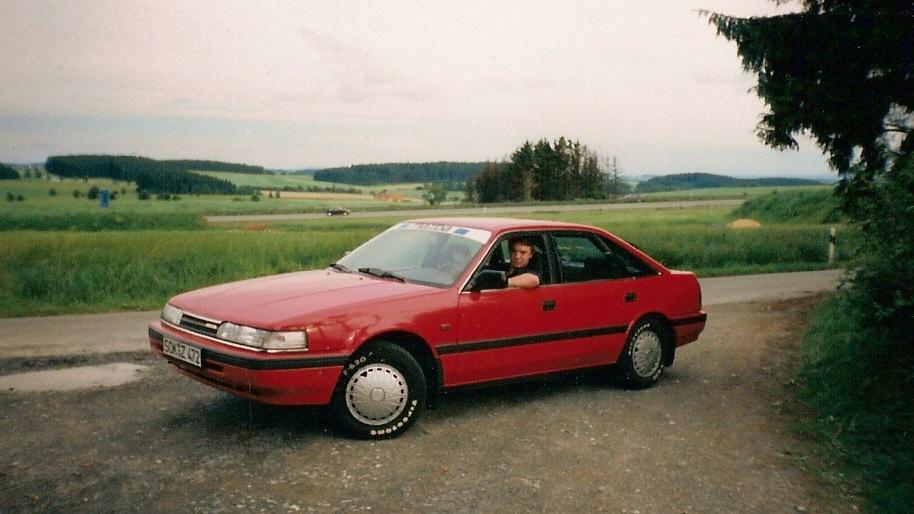мазда 626 красная фото