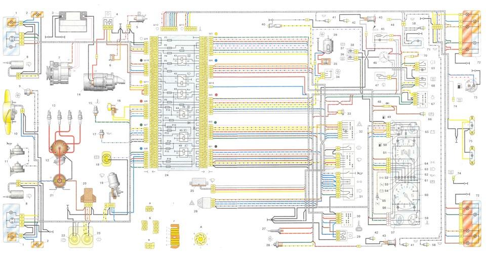 Схема ВАЗ 2107