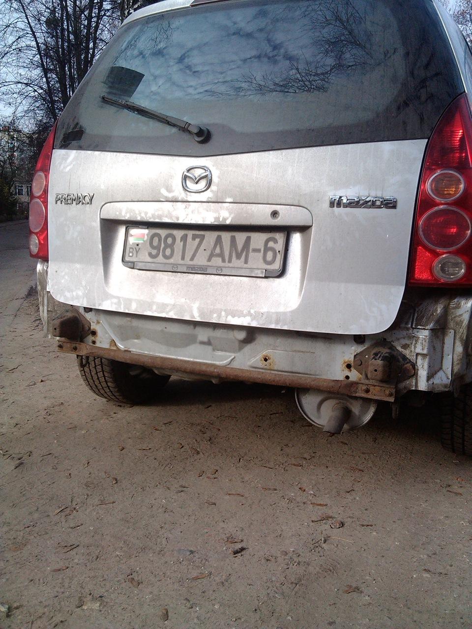 Ремонт Mazda Premacy своими руками 35