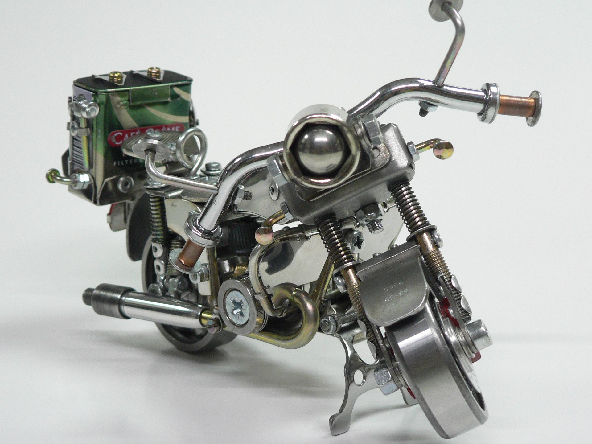 этой модели мотоциклов фото из подшипников самодельные несколько