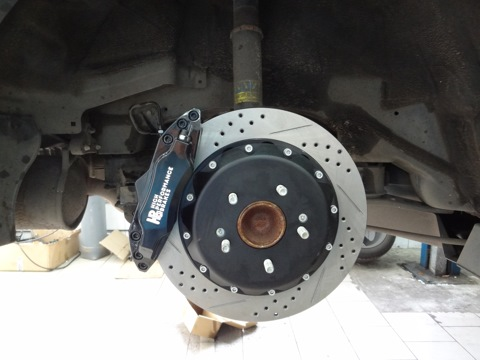 Honda Accord 8. Тормоза Hp-Brakes 330х28mm 4 pot