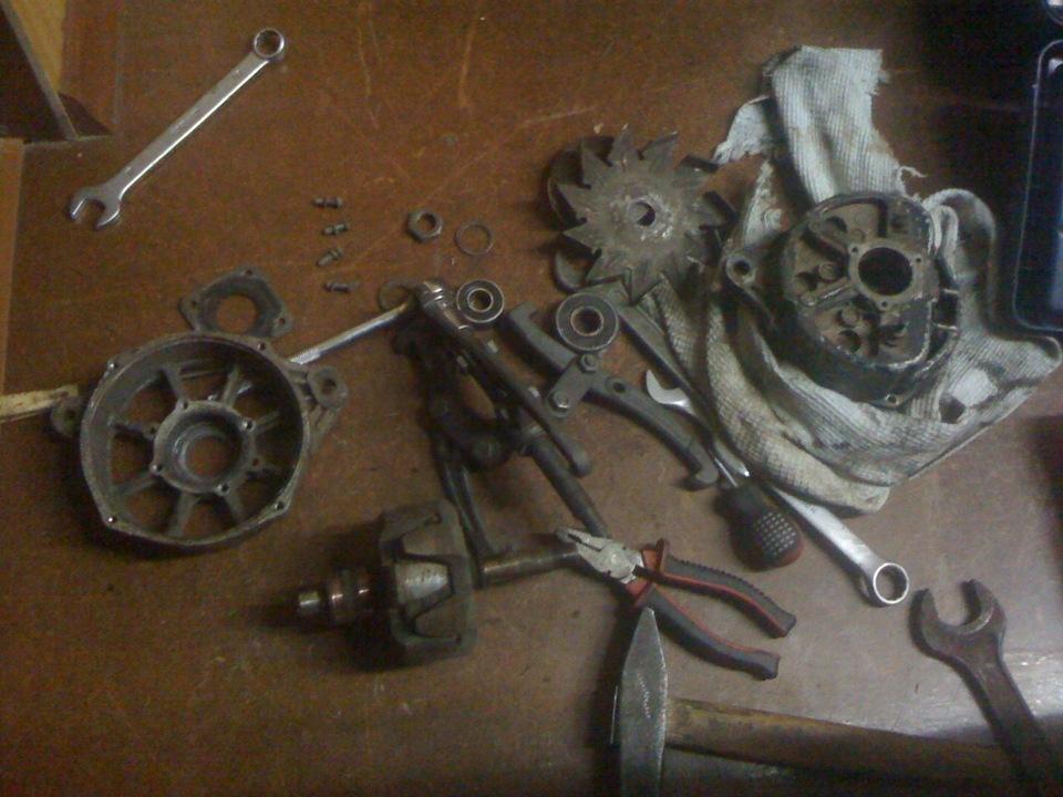 Фото №15 - ремонт генератора ВАЗ 2110 своими руками