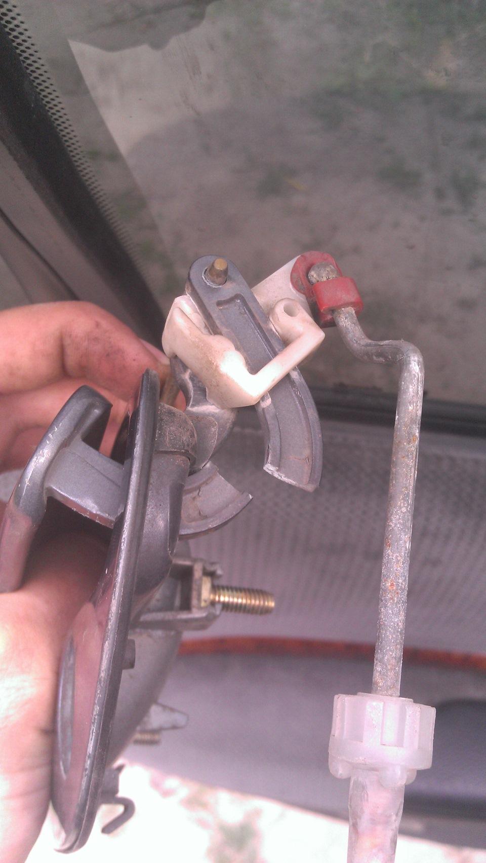 замена дверной наружней ручки опель омега б