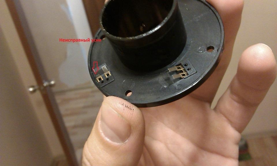Ремонт датчика поворота руля