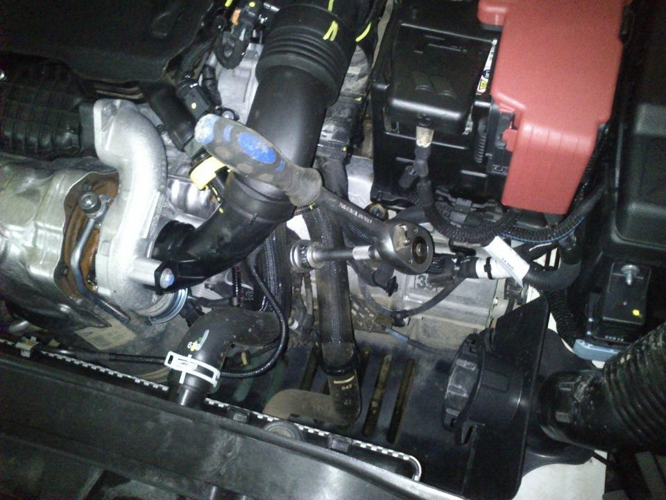 Замена масла в дизельном двигателе своими руками