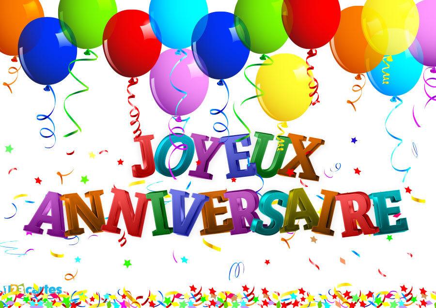 Поздравить мужчину с днем рождения на французском