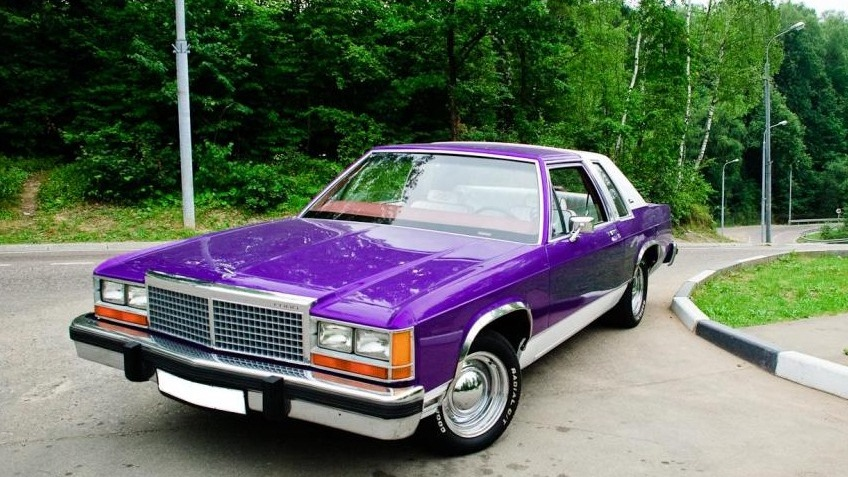 Ford Ltd Crown Victoria Coupe  Hp Fakeheader Makes